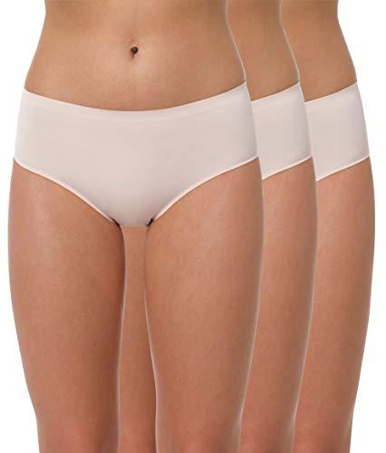 Yenita Donna 3 Pack Slip Bikini Invisibile Seamless Ultimate