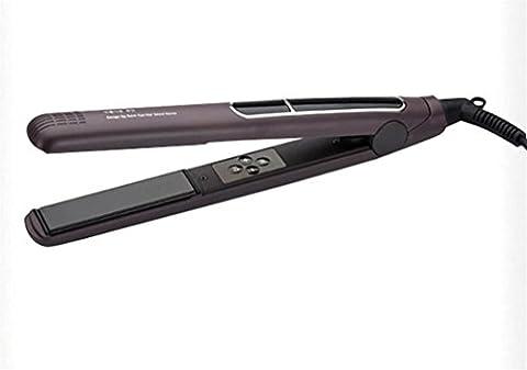 MTTLS Straightener pour cheveux Straightener en céramique Contrôle de température LCD Anti Frizz Instant Heat Up Straight Hair Straightener Variable Temperature Control