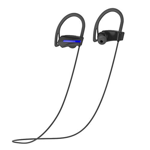 Nourich S8 Drahtlose Kopfhörer Bluetooth 4.1 IPX7 Wasserdichtes Sport HD Stereo Eingebautes Mikrofon Noise Cancelling, 8H Spielzeit, Magnetisches Design für iPhone Samsung Huawei