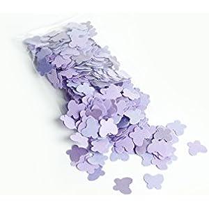 konfetti - Schmetterling Konfetti - 18 g - violett Farbe (handgemacht Konfetti)