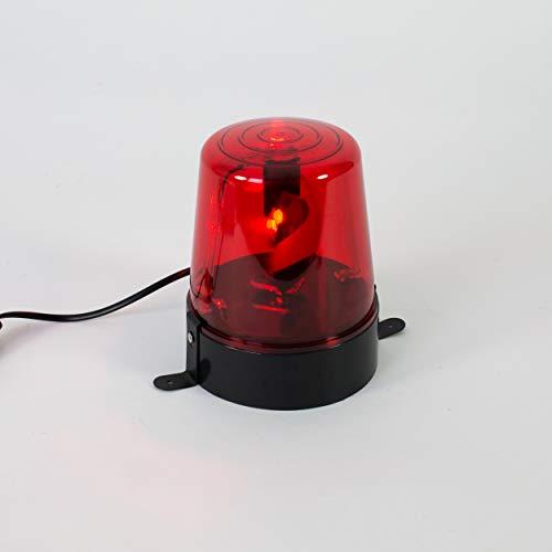 showking Rundumleuchte Harry, 230V/24W, rot - Polizeilicht -