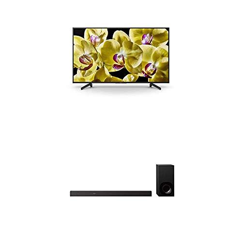 Sony KD-65XG8096 Bravia 65 Zoll (164cm) Fernseher (Ultra HD, 4K HDR, Android Smart TV, Chromecast) schwarz Plus HT-ZF9 3.1-Kanal Dolby Atmos/DTS:X Soundbar funktioniert mit Amazon Alexa schwarz