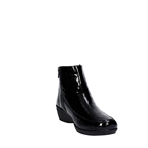 Mulheres p Negras Suaves Iv5425 Ankle Cinzia Keilabsatzt 001 Boots Com BIIA0q7w