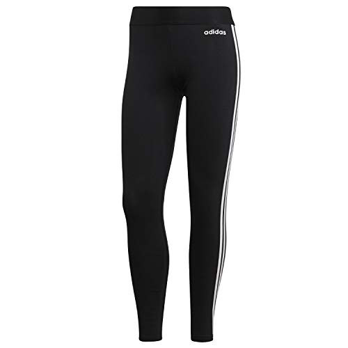 Adidas dp2389, leggins donna, nero/bianco, s 40-42