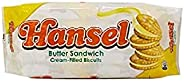 Hansel Butter Sandwich Cream Filled Biscuits, 10 X 32g - Pack of 1