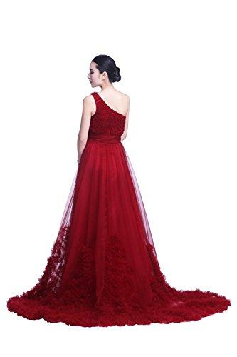 YiYaDawn -  Vestito  - linea ad a - Donna Rosso