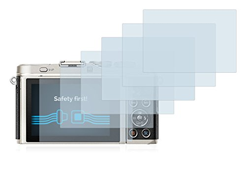 Savvies Protector de Pantalla Compatible con Olympus Pen E-PL9 6 Unidades Transparente