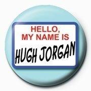 High Jorgan Button blau