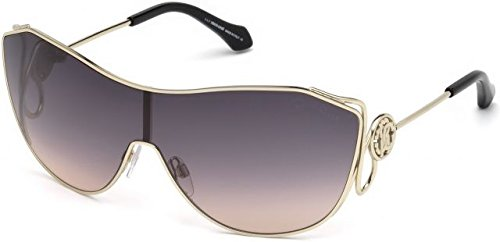 Roberto Cavalli Unisex-Erwachsene RC1061 32B 00 Brillengestelle, Gold (Oro\\Fumo Grand), 0.0