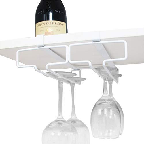 TentHome Glass Holder Weinglas-Halter Schrankeinsatz Gläserhalter Gläser Hanger Gläserschiene...