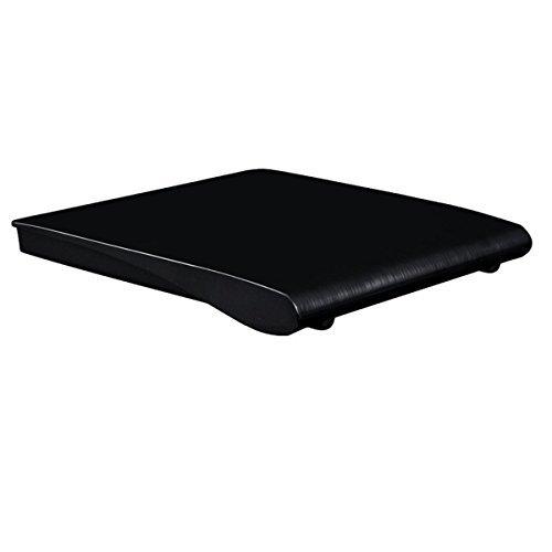 EHZ-Shop USB3.0Contenitore drive ottico chiusura esterna ECD819Nero per 12,7mm SATA Blu-ray/DVD/CD Drive
