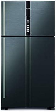 Hitachi 820 L Top Mount Refrigerator, Brilliant Silver/ RV820PUK1KBSL