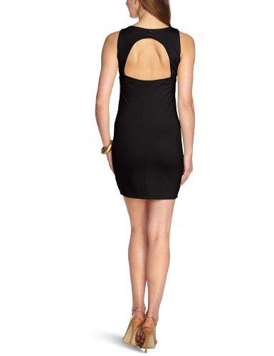 Vero Moda - Vestito, mini, senza maniche, donna Nero (Schwarz (Black))