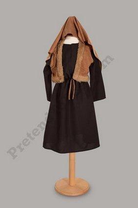 Shepherd Kostüm Mädchen - Jungen oder Mädchen Shepherd I Joseph Geburt Kostüm 5-7 Jahre [Spielzeug]