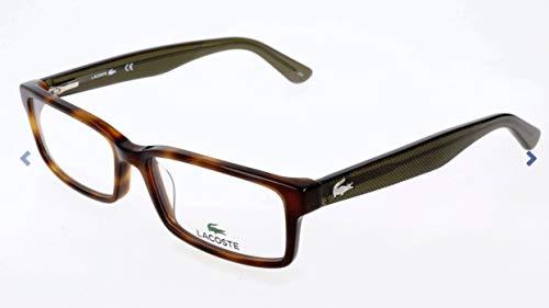 Lacoste Unisex-Erwachsene L2685 Brillengestelle, Braun, 53