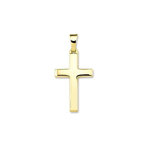 r Kreuz 333 Gelbgold 27 mm - 498173 (Glaube Kreuz)