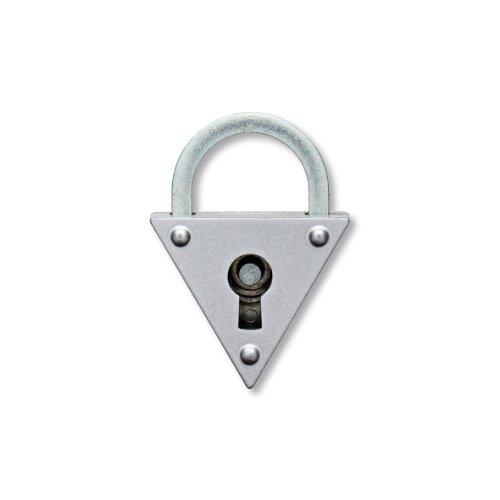 BURG-WÄCHTER Vorhängeschloss, 2er-Set, 5 mm Bügelstärke, 4 Schlüssel, Mein Lieblingsschloss,...