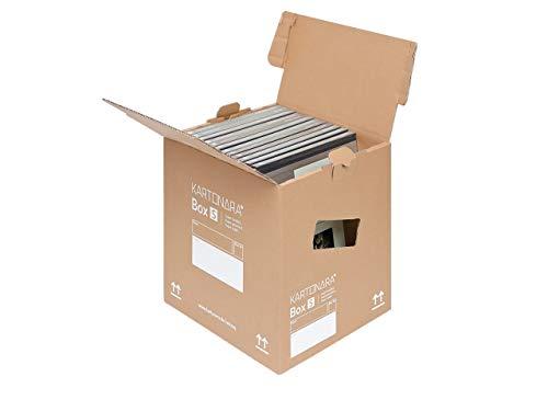 10 Stück Bücherkartons Umzug KARTONARA Box Small | kleine Umzugskartons Bücher 45kg