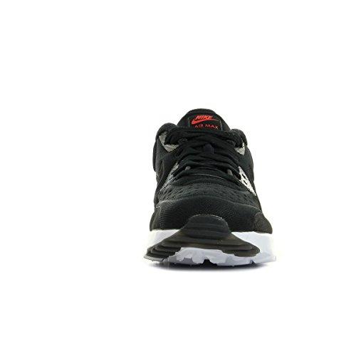 Nike Herren Air Max 90 Ultra Prm (Gs) Laufschuhe Black (Schwarz / Schwarz-Universität Rot-Weiß)