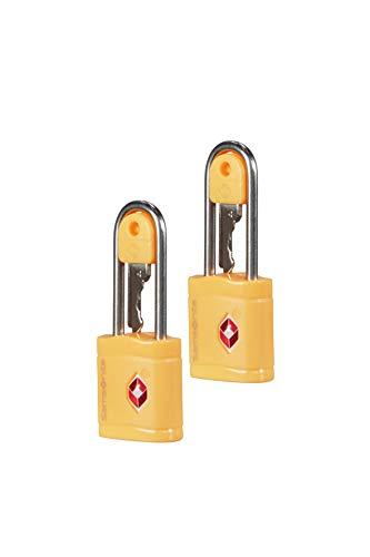 Samsonite Global Travel Accessories TSA Key Lucchetto per Valigie, 6 centimeters, Giallo (Sunflower)