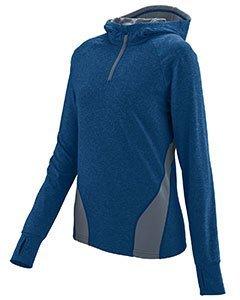 Augusta Sportswear Women'S Freedom Pullover L Navy/Graphite Heather