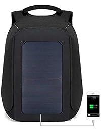 Solar-Reise und Sporttasche mit Ladefunktion für Mobiltelefone Sportrucksack