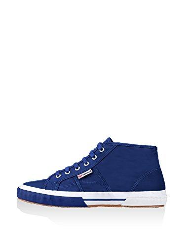 Superga  2754-Pluslnylu, Chaussures en forme de bottines femme Bleu