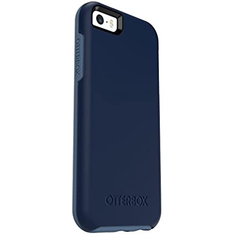 OtterBox Symmetry - Funda para Apple iPhone SE, 5/5S, diseño Whetstone Blue