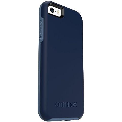 OtterBox Symmetry - Funda para Apple iPhone SE, 5/5S, diseño Whetstone Blue