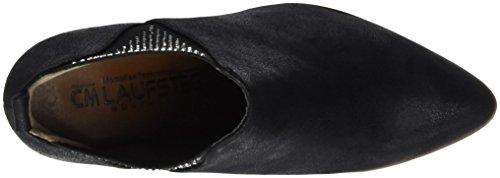 Laufsteg München Hw161004, Botas Planas Sin Acolchado Mujer Negro (negro (negro))