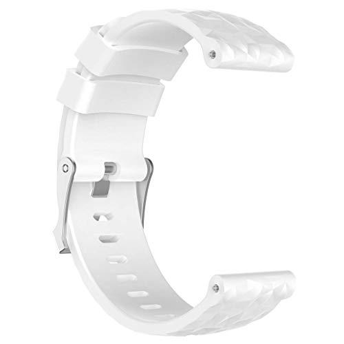 LANDUM - Correa Silicona Repuesto Reloj Suunto Spartan