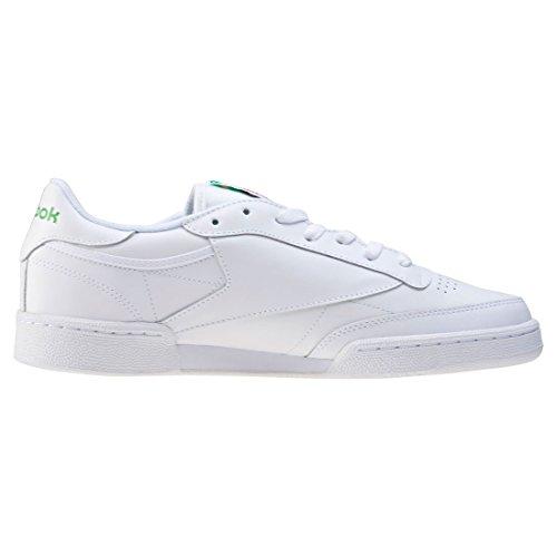 Reebok Club C 85 Sneaker Uomo Bianco int whitegreen
