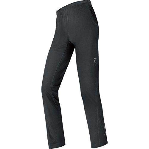 GORE RUNNING WEAR, Homme, Pantalon de course, Ample GORE Selected Fabrics, ESSENTIAL Loose, Taille L, Noir, TESSLO