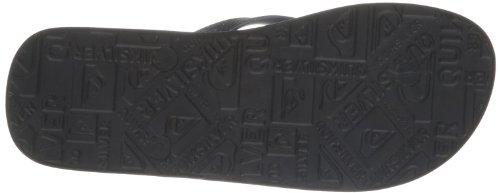 Quiksilver MOLOKAI ST COMP M SNDL XKBW EQYL100033-XKBW Herren Dusch- & Badeschuhe Schwarz (BLACK/BLUE/WHIT)