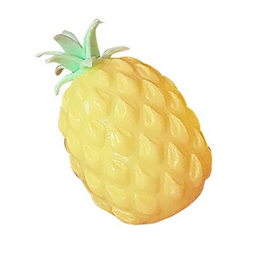 Auied Lernspielzeug Ananas Heilung Spaß Kinder Kawaii Spielzeug Stressabbau Dekoration Spielzeug Dekompressionsspielzeug