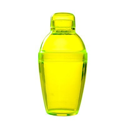 Fineline Settings Quenchers Cocktail Shaker, 7-Ounce, Yellow by Fineline settings -