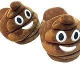 Kinder 'Poo' Emoji Hausschuhe - Jetzt können Sie Ihre Lieblings-Emoji auf den Füßen tragen! Schuhe Größe klein