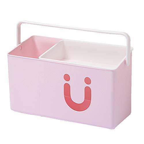Stangent Aufbewahrungsbox für Babybett, Windeltisch, Aufbewahrungsbox, Windel, Nass-Finish, Nachttisch, multifunktional, Aufbewahrungsbox für Baby- und Kinderzimmer, schönes Geschenk für Kinder Rose -