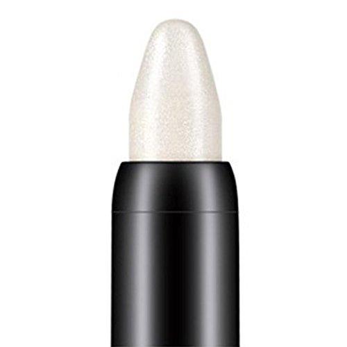 TPulling Kosmetikpulver Beauty Highlighter Lidschatten Bleistift Smoky Lidschatten Palette Matt (Weiß) -