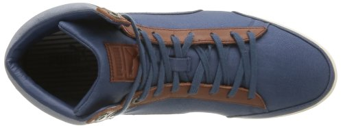Puma Catskill Mid Canvas, Chaussures de ville homme Bleu (Denim/Brown/White/Bronze)