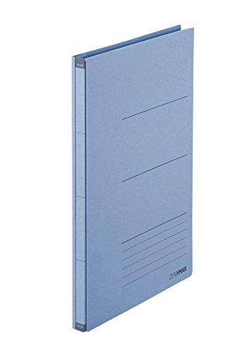PLUS Japan Zero Max Platzsparordner A4-Überbreite Blau, dehnbar bis zu 10cm, für 800 Blatt