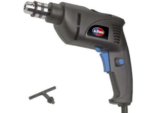 All Power America APT2001 4.2 Amp 3/8-inch Corded Drill by All Power America (Power Tool Corded Drill)