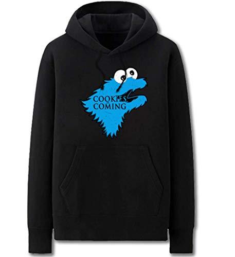 qingning Game Throne Pullover Cookie Monsters Sweatshirt Cosplay Kostüm Kaupzenpullover Christmas Geschenck