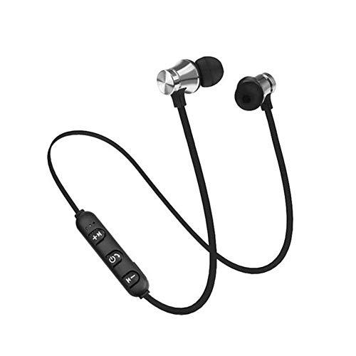 opfhoerer in ear bass Magnetische Bluetooth-Kopfhörer, wasserdicht, In-Ear-Bluetooth-Ohrhörer, kabellos, für Sportfür iPhone, Android, MP3 und so weiter ()