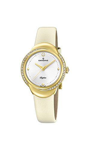 Candino Womens Analogue Classic Quartz Watch with Leather Strap C4624/1