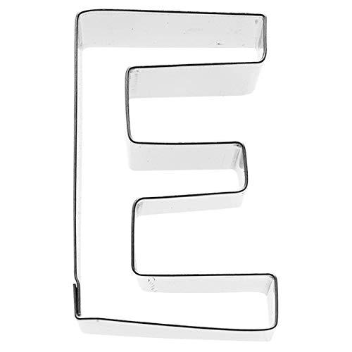 Birkmann 1010710910 Ausstechform Buchstabe E, 6 cm, Kunststoff, Grau, 5 x 3 x 2 cm, 5 x 3 x 2 cm