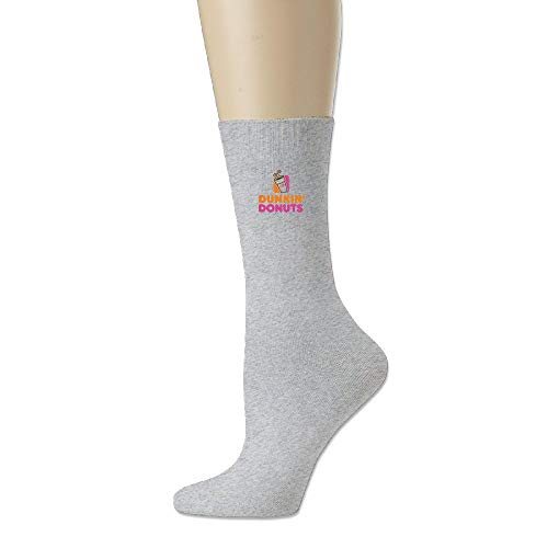 Bai Qian Erwachsene Unisex USA DUNKIN DONUTS LOGO Athletic Socke Casual Socken one size 19.6in -