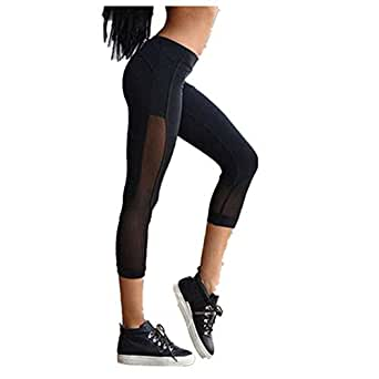 klare Textur tolle sorten einzigartiges Design Jogginghose Damen 3/4 Staresen Yogahose Jogginghose Leggings ...