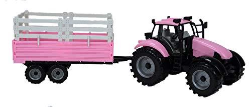 TOYLAND Tractor Granja accionado fricción Remolque