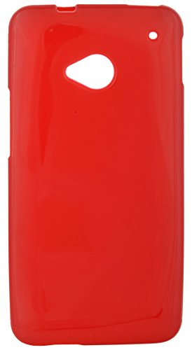 iCandy Back Cover for HTC One M7 (Red)  available at amazon for Rs.109